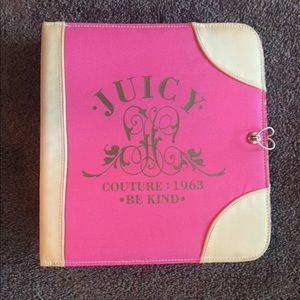Juicy Couture Binder and Pencil Pouch